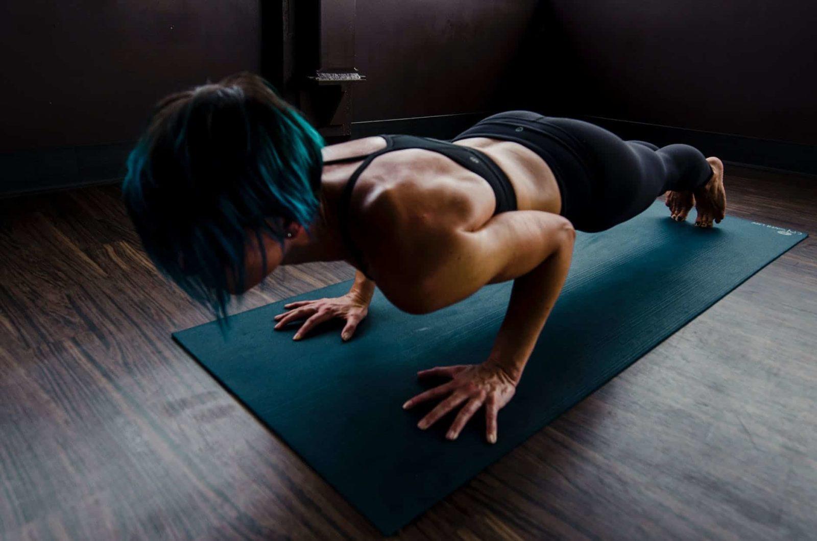positivity challenge with push-ups