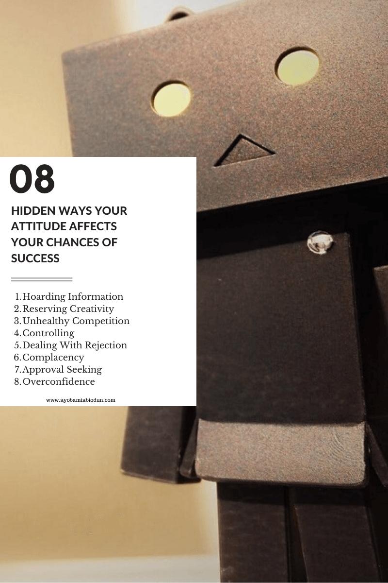 hidden ways our attittude affect us